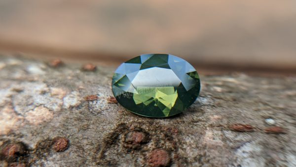 Ceylon Natural green Zircon from Danu Group Gemstones Collection