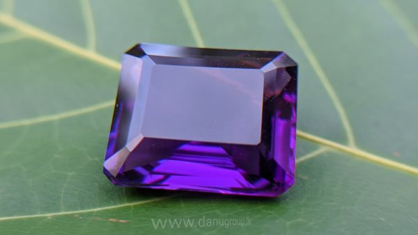Danu Group Gemstones Collection Natural Amethyst Brilliance Purple Colour Gemstone