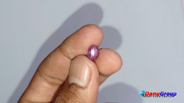 Ceylon Natural Pink Star Sapphire from Danu Group Gemstones Collection