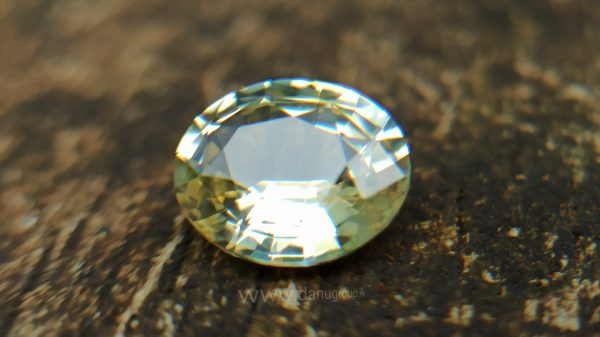 Ceylon Natural Yellow Sapphire Danu Group Astrological gem of planet Jupiter
