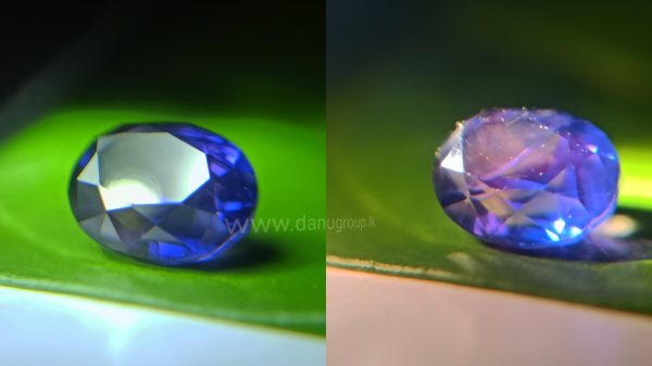 Ceylon Colour Change Sapphire from Danu Group Gemstones Collection Unique gemstones