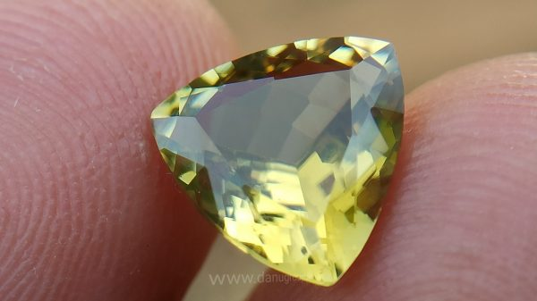 Natural Yellow Tourmaline from Sri Lanka - Danu Group Gemstones Collection