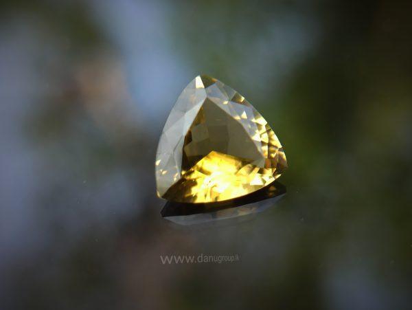 Natural Yellow Tourmaline from Sri Lanka - Danu Group Gemstones Collection