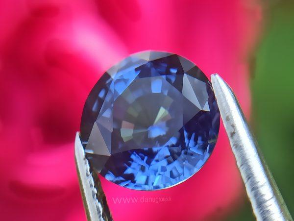 Ceylon Cornflower Blue Sapphire - Danu Group Gemstones
