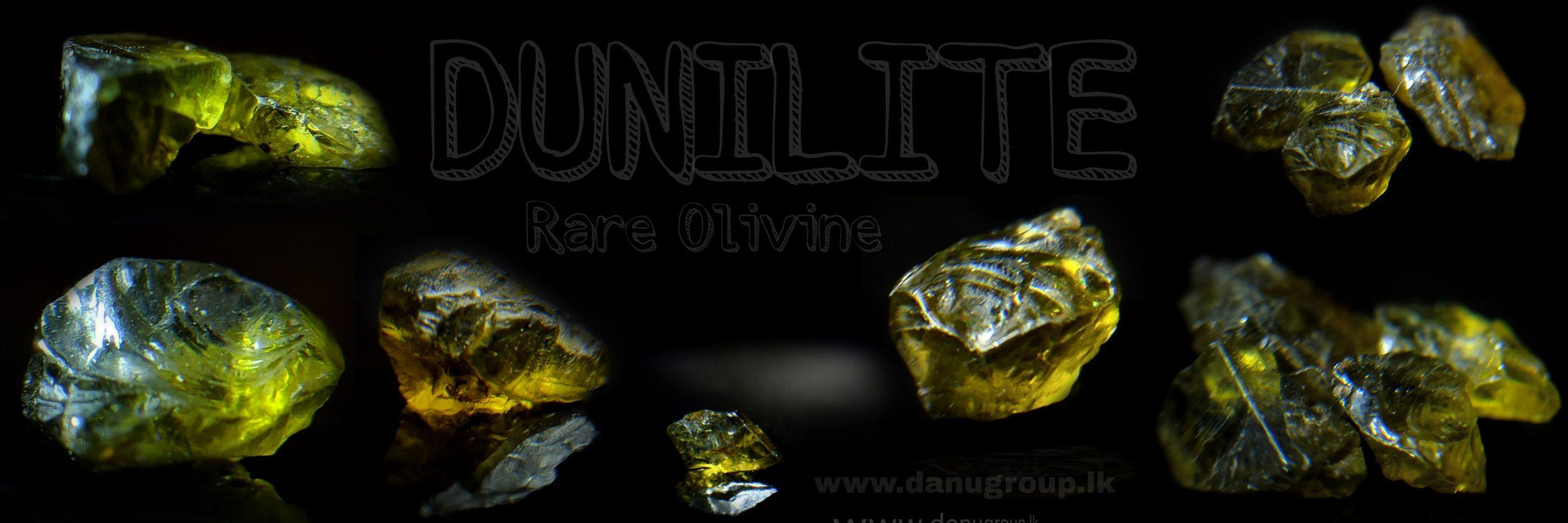 Dunilite – Rare Olivine