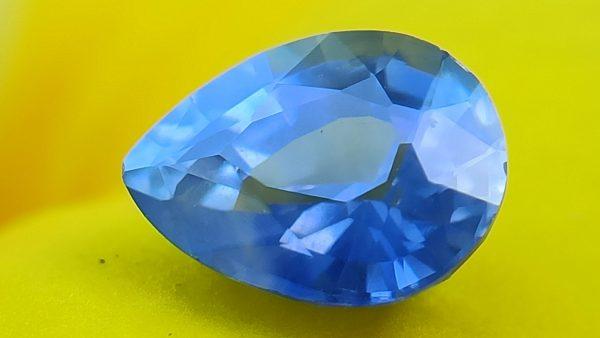 Ceylon Natural Cornflower Blue Sapphire for fine jewelry Danu Group Gemstones