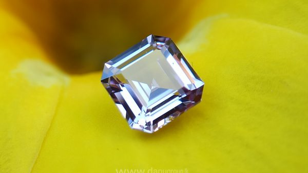 Ceylon Natural pinkish Purple Sapphire Danu Group Gemstones Collections