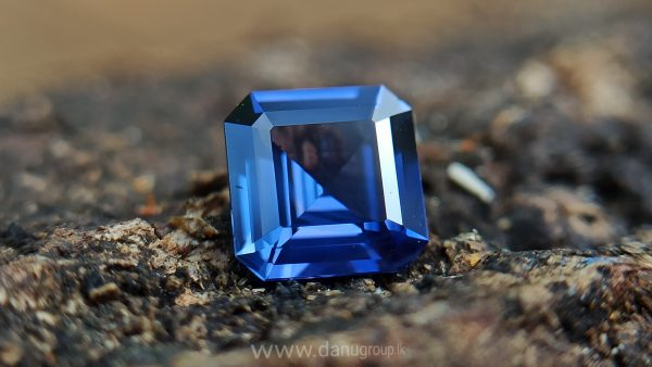 Ceylon Natural vivid blue royal blue Sapphire from Danu Group Gemstones Collections