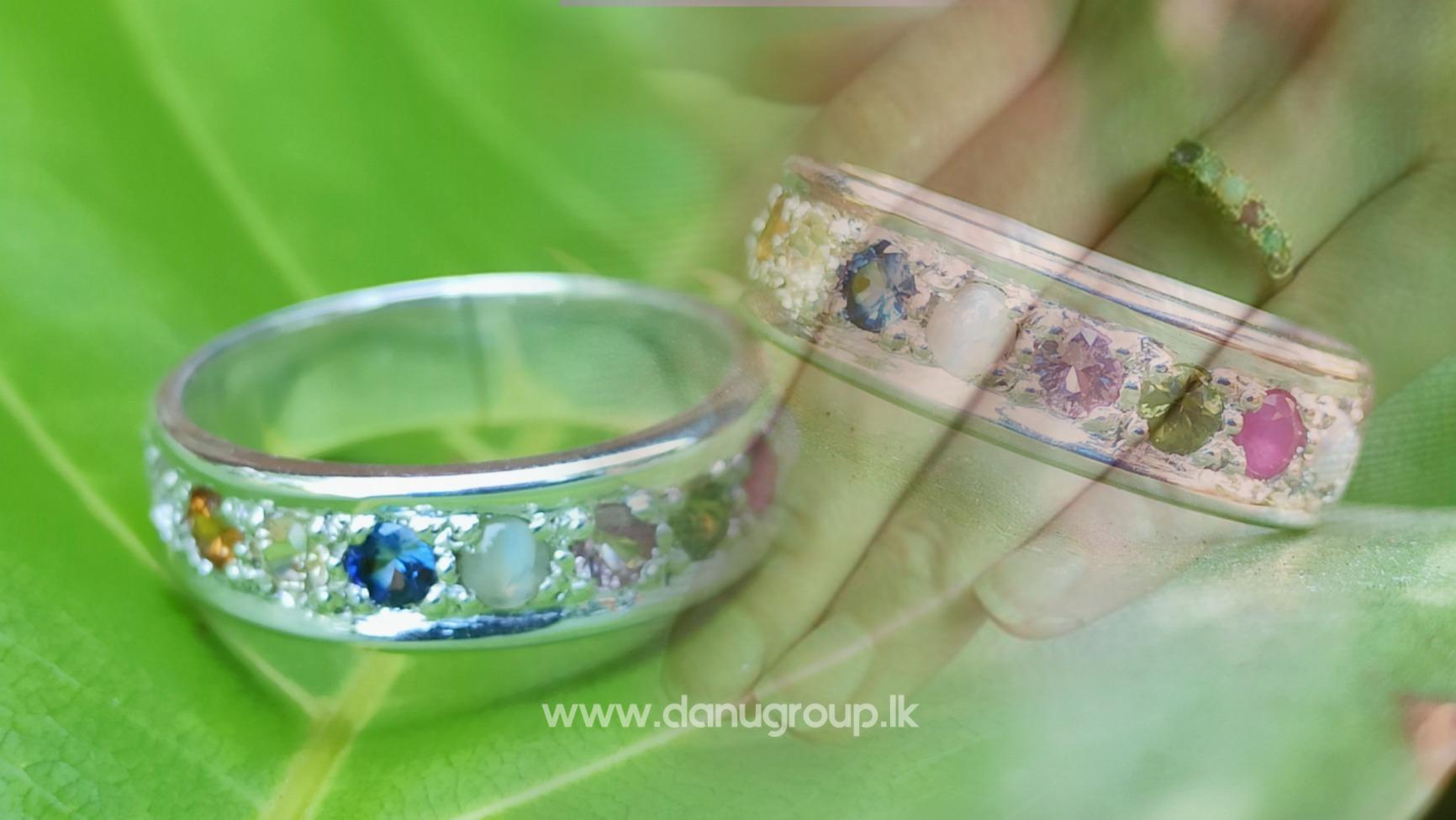 Natural 9 Gemstones Ring – Nawarathna නවරත්න