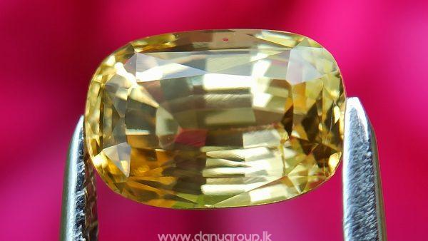Ceylon Natural Top Grade Yellow Sapphire danugroup Gemstones - danugroup.lk